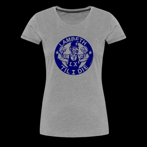 LAMBETH - NAVY BLUE - Women's Premium T-Shirt