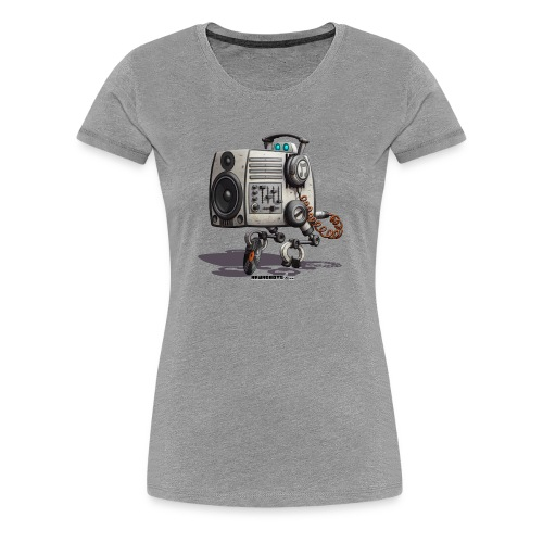 The S.O.U.N.D. Robot! - Dame premium T-shirt