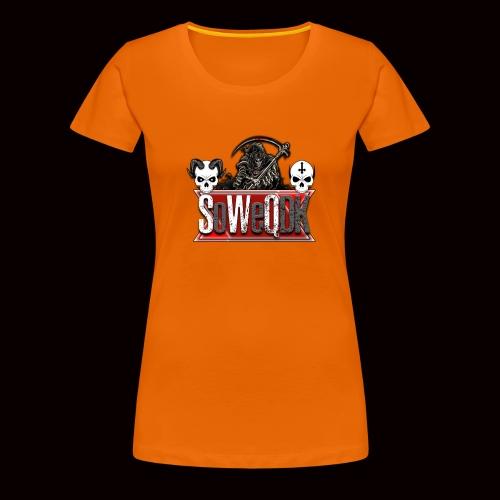 SoWeQDK Banner - Dame premium T-shirt