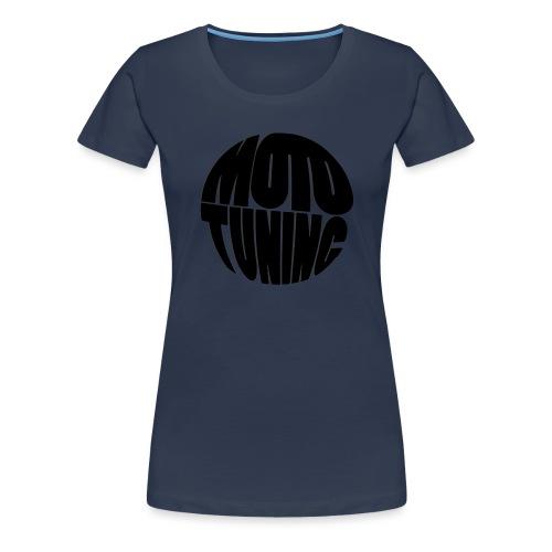 MotoTuning Black - Women's Premium T-Shirt
