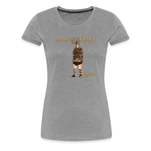 mantenblad - Premium-T-shirt dam
