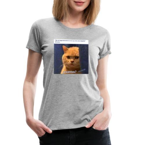Cat nalgadas - Camiseta premium mujer