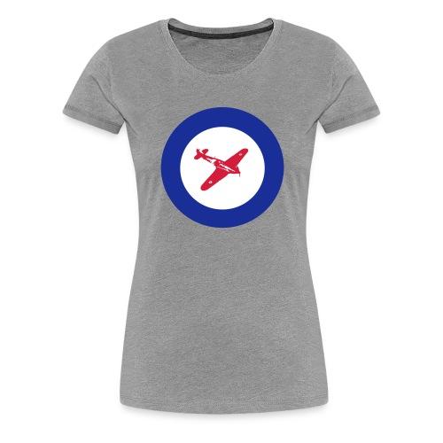 Hurricane Roundel - Women's Premium T-Shirt