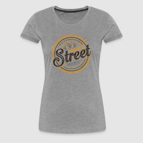 logo tshirt groovestreet png - T-shirt Premium Femme