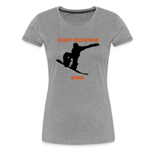 Staff Snow Mimil - T-shirt Premium Femme