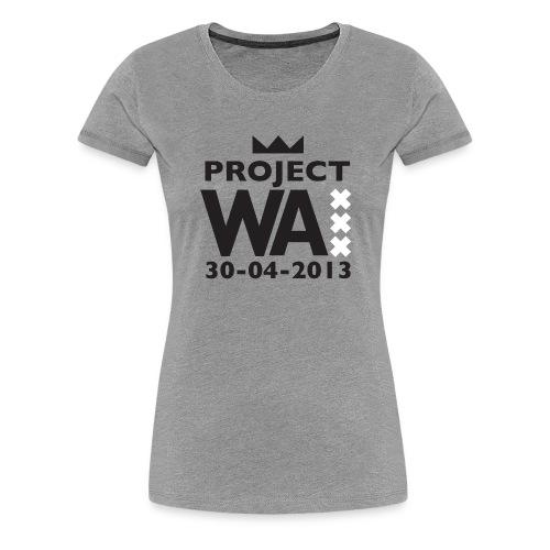 project wazw - Vrouwen Premium T-shirt