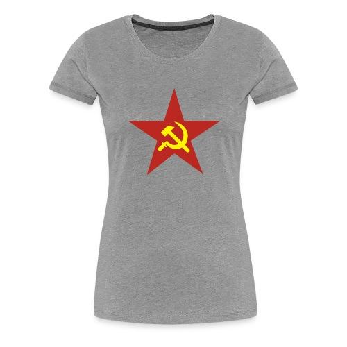 Russenstern - Frauen Premium T-Shirt