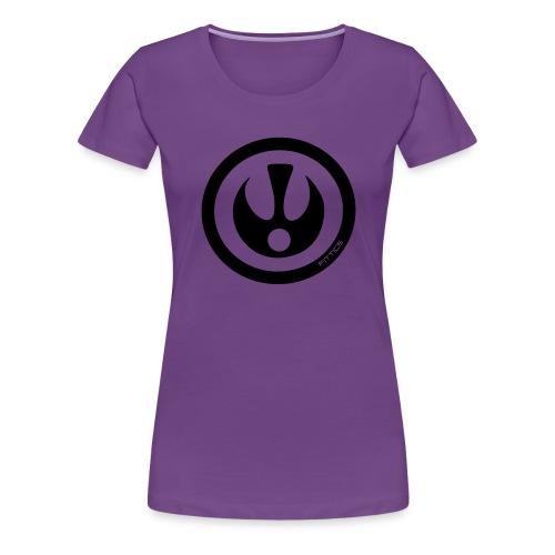 FITTICS SHIELD Black - Women's Premium T-Shirt