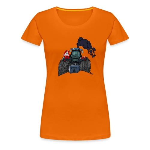 908 NH rook - Vrouwen Premium T-shirt