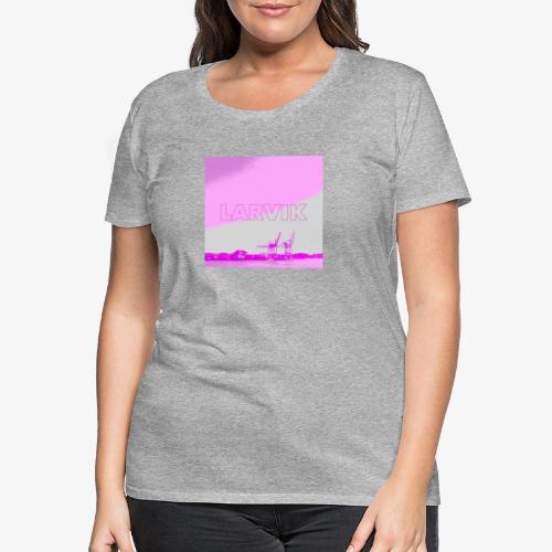 LARVIK - Premium T-skjorte for kvinner