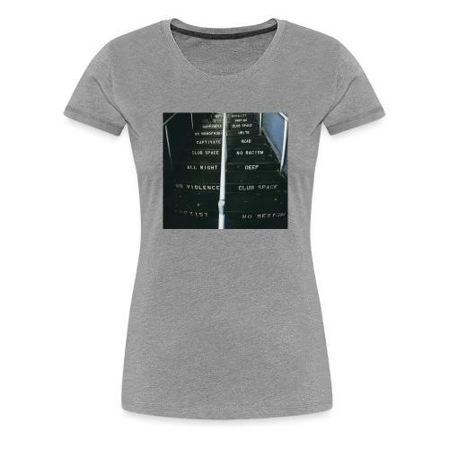 lawsoftechno - Vrouwen Premium T-shirt