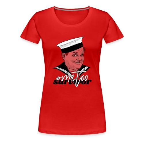 #metoo survivor - Dame premium T-shirt