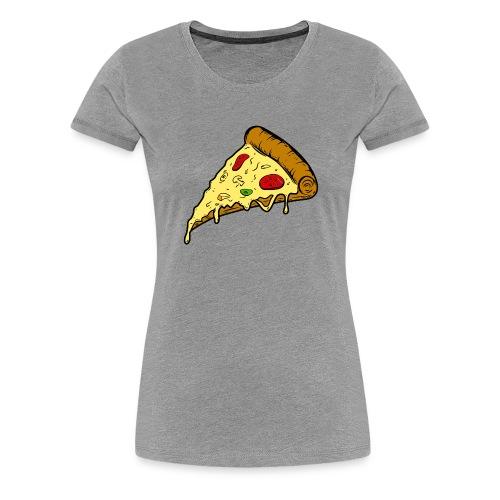 pizza pizza pizza - Camiseta premium mujer