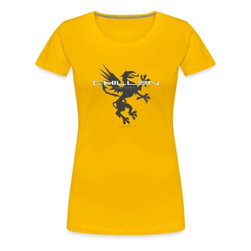 Chillen-tee - Women's Premium T-Shirt