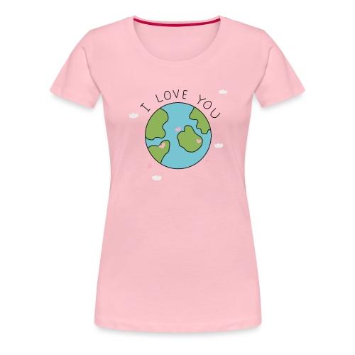iloveyou - Maglietta Premium da donna