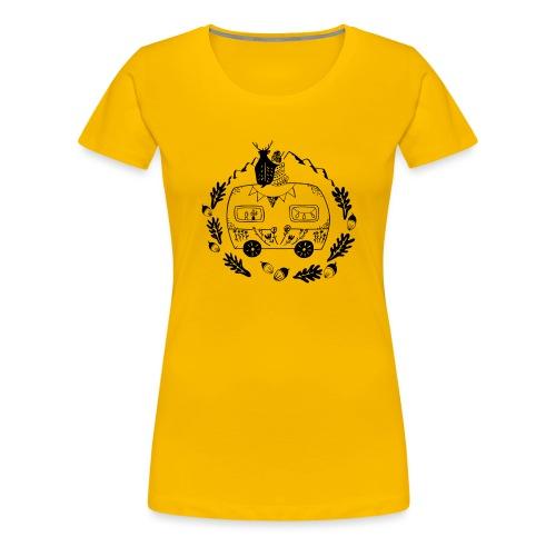 Norwegenliebe - Frauen Premium T-Shirt
