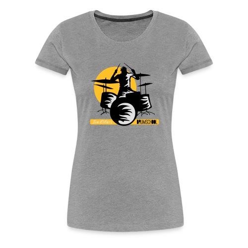 logo ivo Elfers drummer - Vrouwen Premium T-shirt
