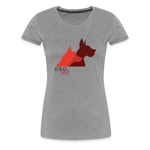 Kbo(s)Red - T-shirt Premium Femme