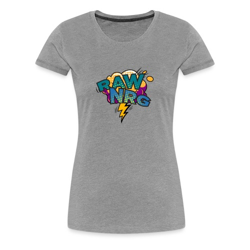 Raw Nrg Comic 1 - Women's Premium T-Shirt