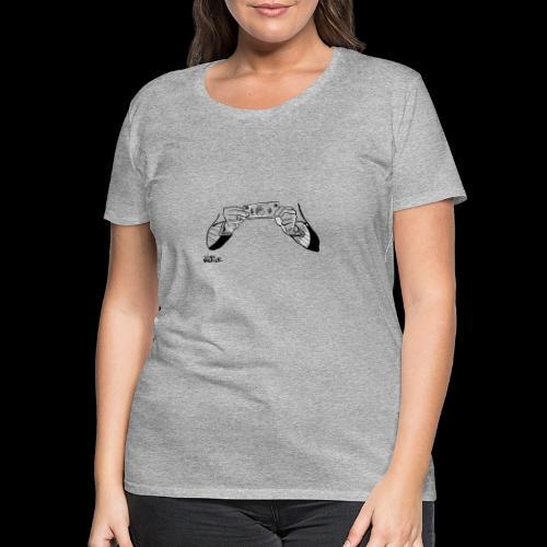 Cash hands - Vrouwen Premium T-shirt