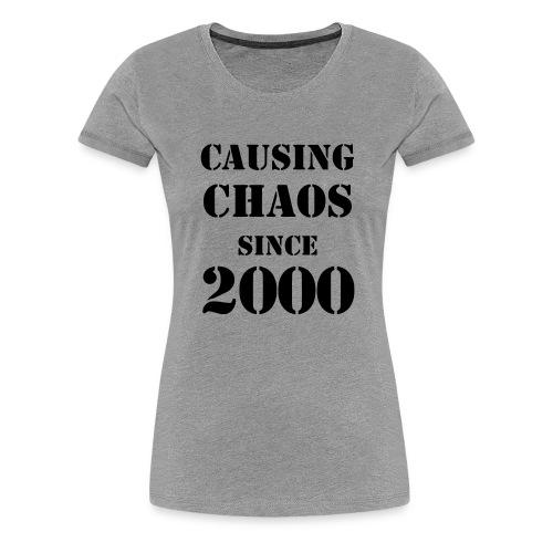 chaos - Women's Premium T-Shirt