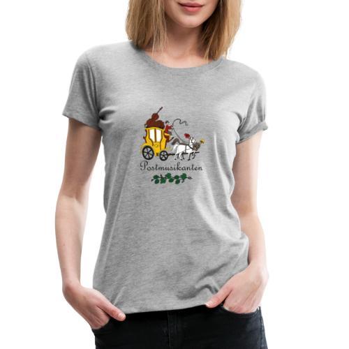 Postmusikanten - Frauen Premium T-Shirt