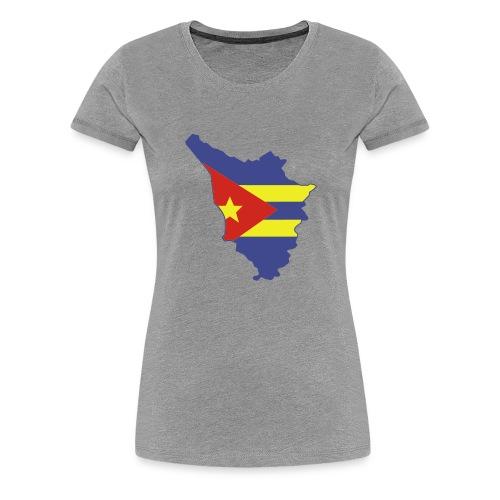 logotoscana3 colori - Maglietta Premium da donna