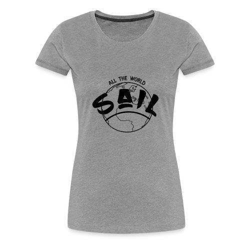 planette_terre_SAIL_ - T-shirt Premium Femme