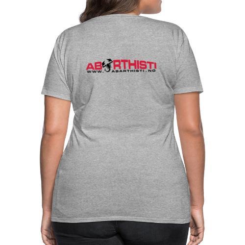 abarthlogored - Premium T-skjorte for kvinner