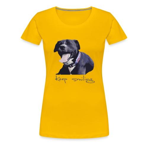 Johnny smiles - Frauen Premium T-Shirt