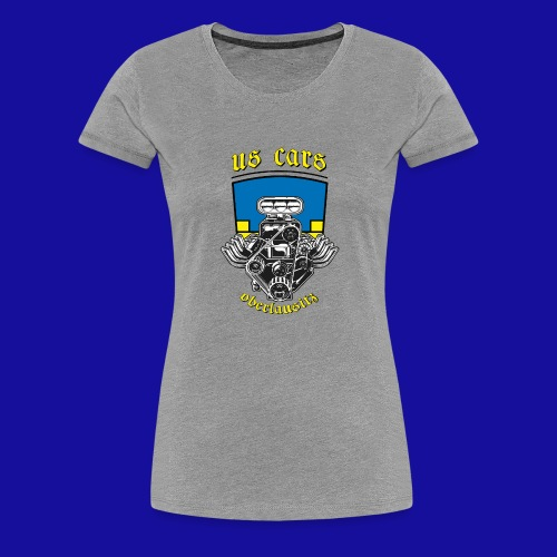 US Cars Oberlausitz - Frauen Premium T-Shirt
