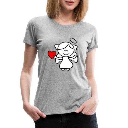 Lykkeengel - Premium T-skjorte for kvinner