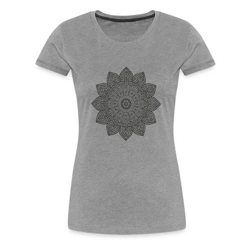 Mandala geometria sacra geometric - Maglietta Premium da donna