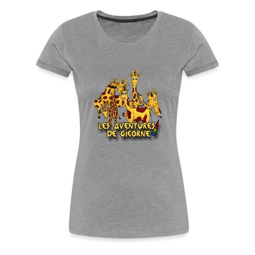 Les aventures de Gicorne - T-shirt Premium Femme