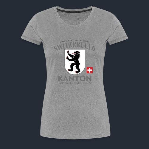 Kanton T-Shirt appenzelli, Schweiz, switzerlang - Frauen Premium T-Shirt
