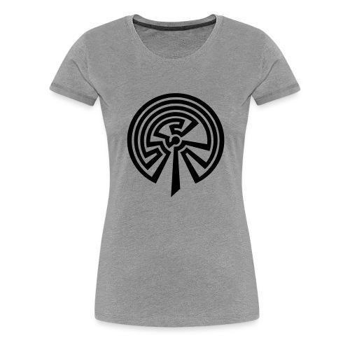 Indianisches Labyrinth - Frauen Premium T-Shirt