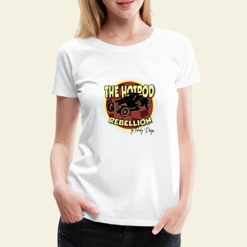 hotrod rebellion - Dame premium T-shirt