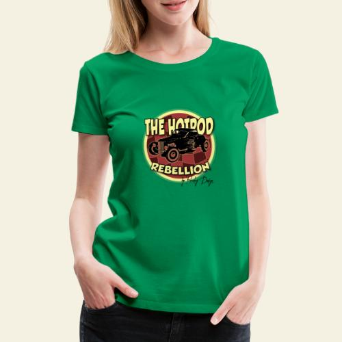 hotrod rebellion - Dame premium T-shirt