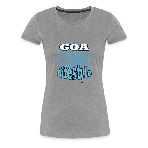 Goa Lifestyle 2.png - Frauen Premium T-Shirt