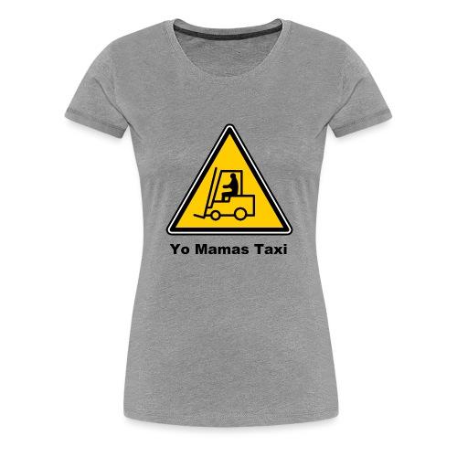 Mamas Isle Taxi - Women's Premium T-Shirt