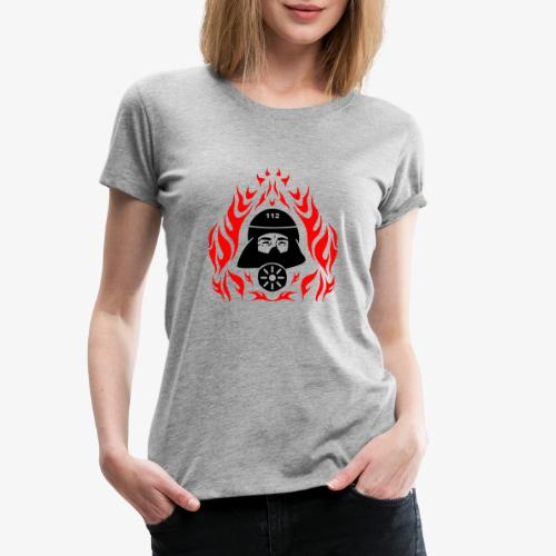 Atemschutz Flamme 2 - Frauen Premium T-Shirt