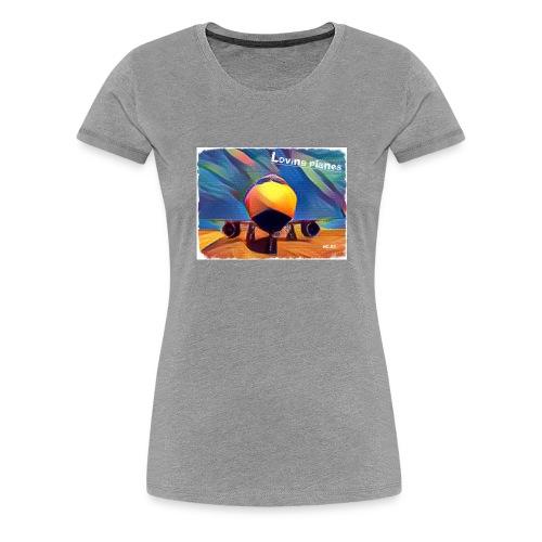 Loving planes - Camiseta premium mujer
