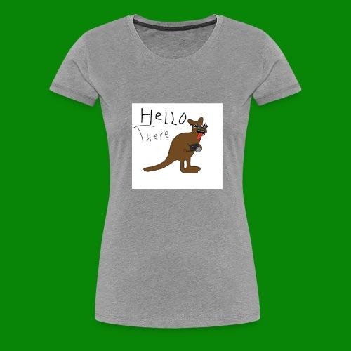 saltyfaggot hello - Premium-T-shirt dam