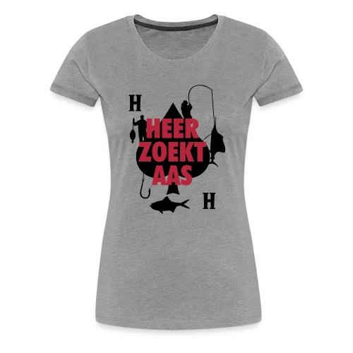 Heer zoekt aas - Vrouwen Premium T-shirt
