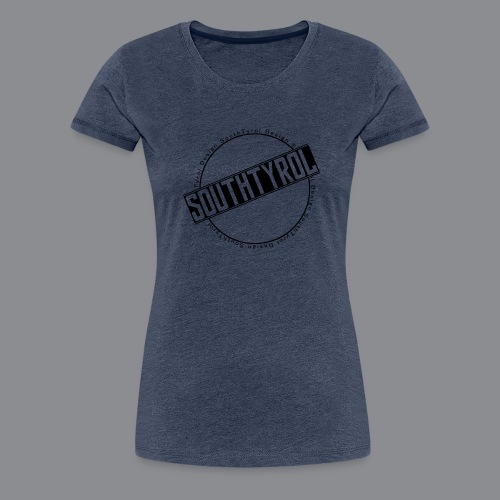 SouthTyrol Kreisform - Frauen Premium T-Shirt