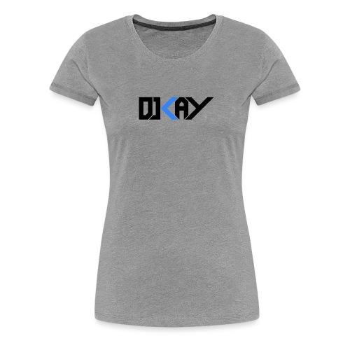 DJ KAY noir transparent - T-shirt Premium Femme