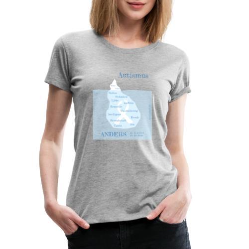 Autismus - anders als man denkt - Frauen Premium T-Shirt