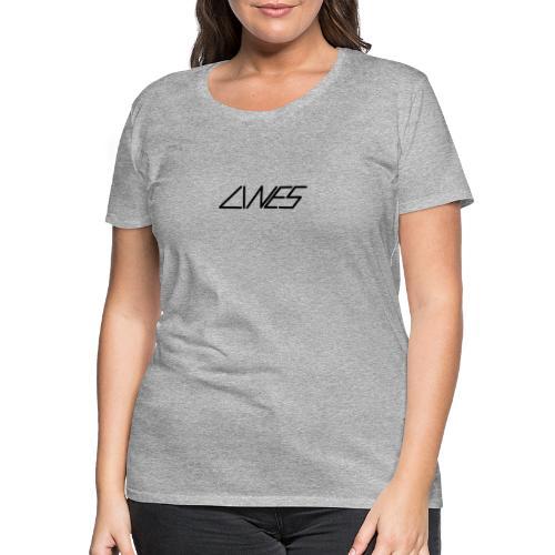 LINES - Vrouwen Premium T-shirt