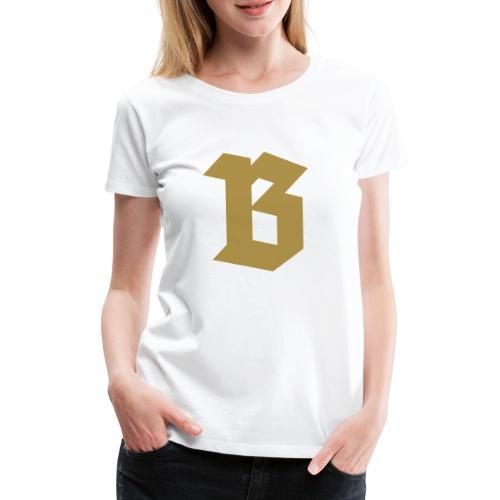 (B) Belgium - T-shirt Premium Femme
