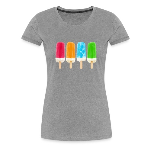 Glassigt - Premium-T-shirt dam